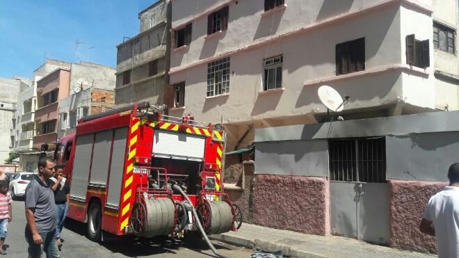 في ثالث أيام العيد.. انفجار قنينة غاز يهز منطقة بوركون بالبيضاء