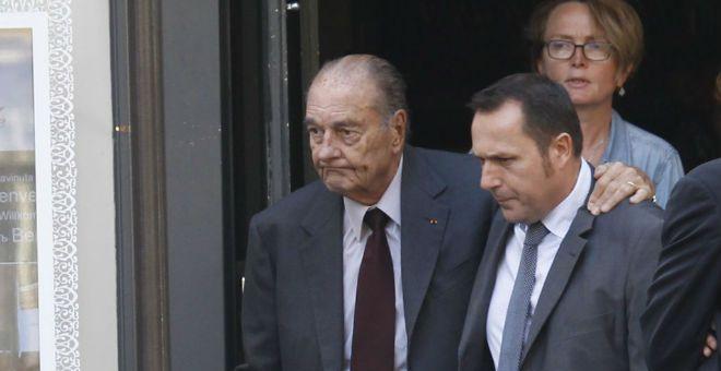 نقل الرئيس الفرنسي السابق جاك شيراك إلى المستشفى