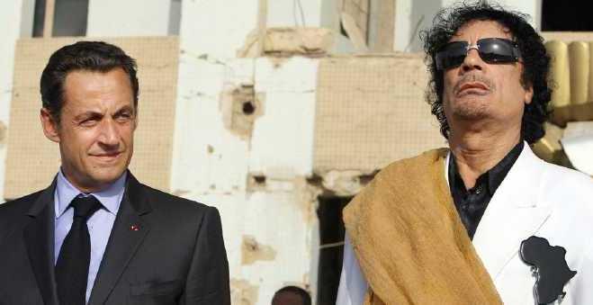 وثائق جديدة تدين ساركوزي في قضية تمويل حملته من قبل القذافي