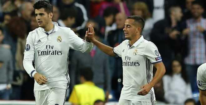موراتا وفازكيز يتفوقان على الـBBC في ريال مدريد