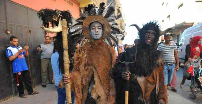 بالصور.. كهذا احتفل السلاويون بمهرجان