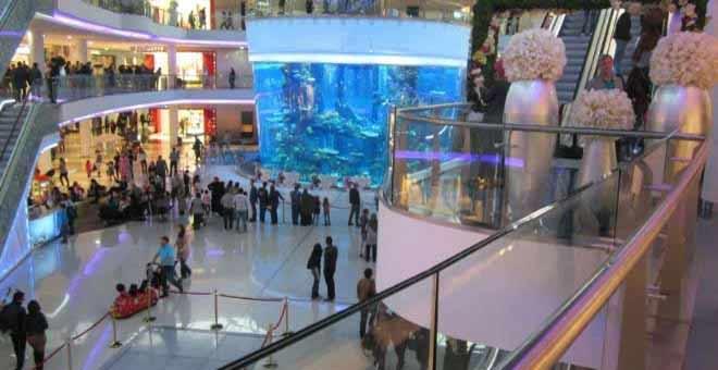 الشوهة.. شاهد ماذا يحدث في Morocco Mall في هذه الأثناء  !!