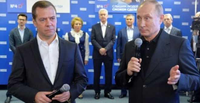 الانتخابات البرلمانية الروسية..انتصار ساحق لحزب بوتين