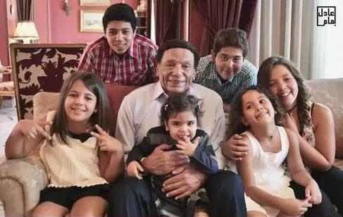 adel imam grand children