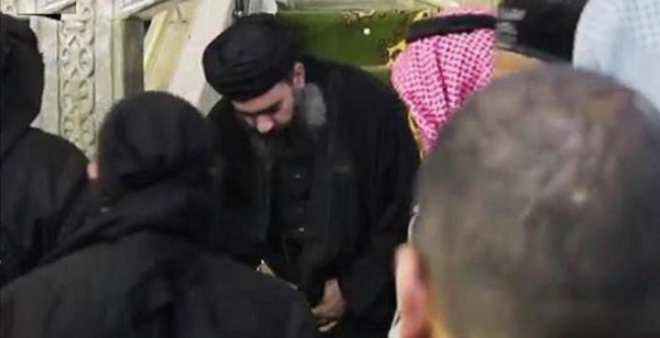 اضطرابات الموصل ترغم البغدادي الخليفة الداعشي على الخروج من مخبئه