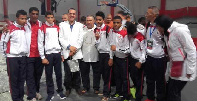 مطالب بزيادة منحة نادي الفتح فرع الملاكمة