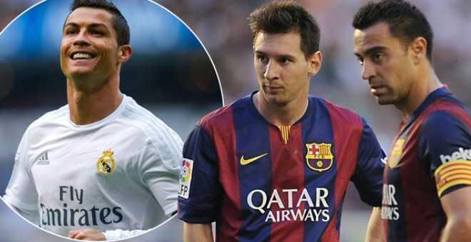 تشافي : رونالدو أفضل من ميسي عند أنصار ريال مدريد