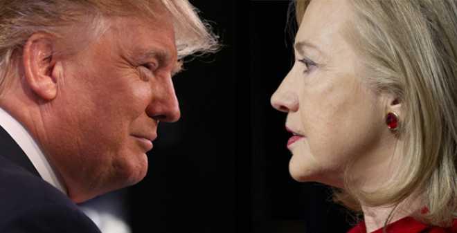 استطلاعات الرأي تمنح كلينتون الصدارة في عموم أمريكا