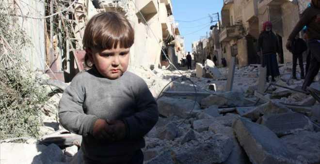 """يونيسيف: 50 مليون طفل بالعالم """"اقتلعوا من جذورهم"""" بسبب الحرب"""