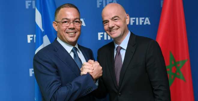 رئيس الفيفا: المغرب يتوفر على حظوظ لتنظيم المونديال
