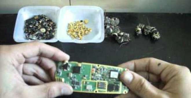 استخلاص الذهب الخالص من الهواتف المتنقلة صار أسهل حسب أخر الأبحاث