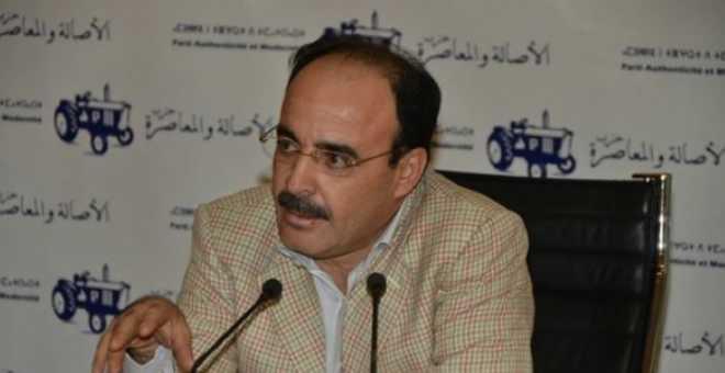 الأصالة والمعاصرة يراسل الداخلية بسبب تعرض أعضائه لضغوطات من