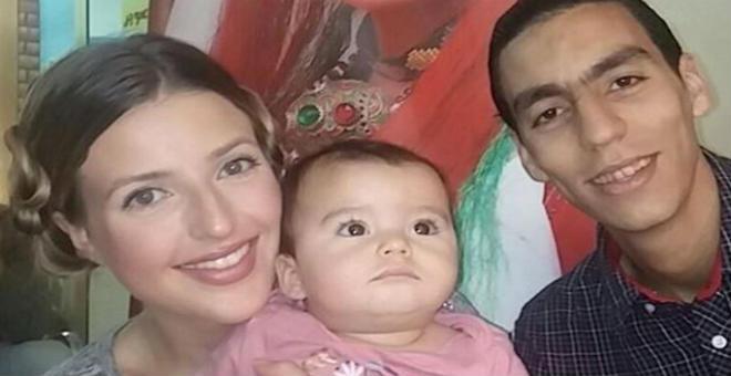 الأمريكية جينيفر غراوت ترد بقسوة منتقدي شكل زوجها المغربي