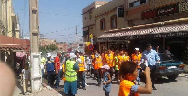 سكان القصيبة يتهيأون لقضاء عيد الأضحى في أجواء نظيفة