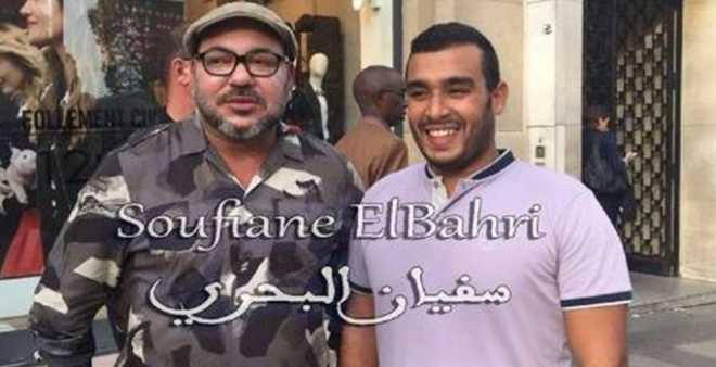 بالفيديو. الملك محمد السادس يحقق حلم شاب مغربي