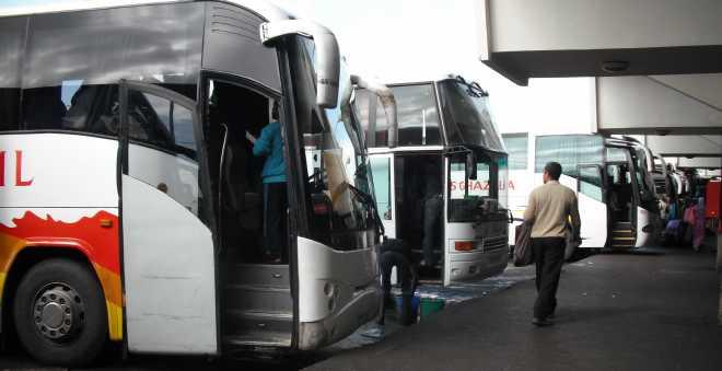 محطة ولاد زيان تنظم الرحلات الطويلة عبر رخص استثنائية قبيل عيد الأضحى