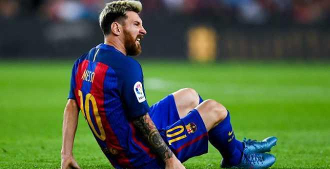 ليونيل ميسي يغيب عن فريق برشلونة لـ3 أسابيع