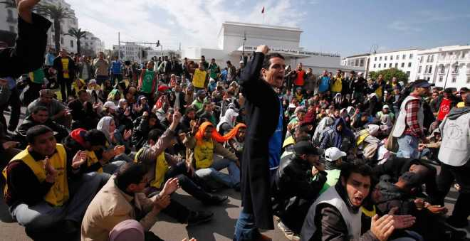 الجبهة الوطنية الموحدة ضد البطالة تشدد على توظيف المعطلين