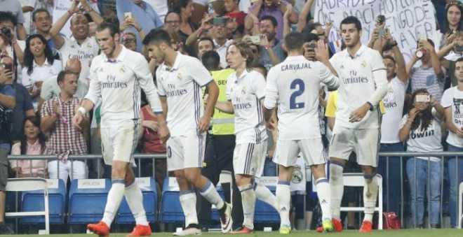 الاصابة تبعد مهاجم ريال مدريد عن مواجهة إيبار