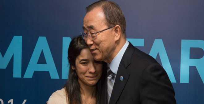 نادية مراد.. من الاغتصاب على يد داعش إلى سفيرة للنوايا الحسنة