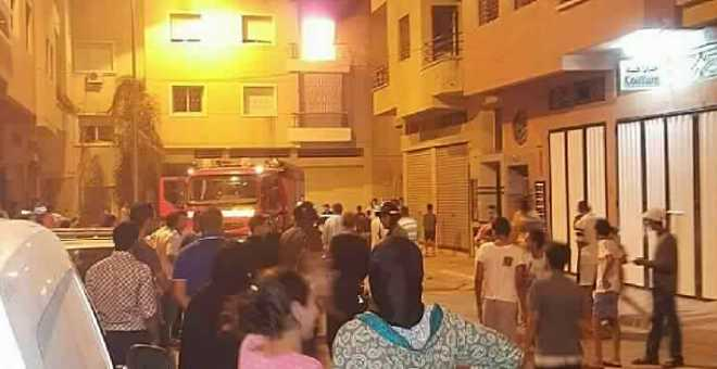 مضطرب نفسيا يضرم النار في منزله ببني ملال ويثير مخاوف السكان
