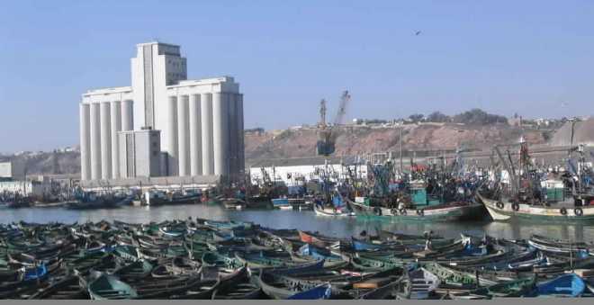 مهنيو الصيد البحري يطالبون بتسريع إنهاء الورش البحري لميناء آسفي