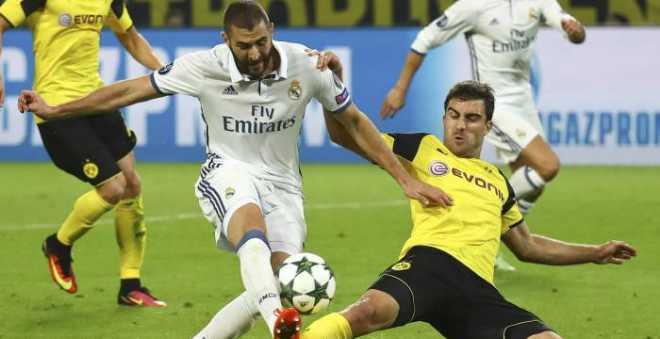 دورتموند يفرض التعادل على ريال مدريد