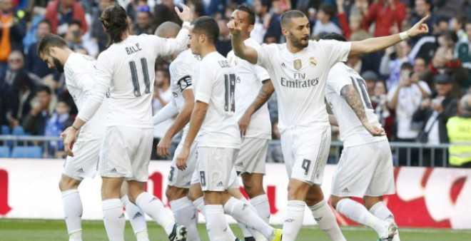 ريال مدريد في ريادة التصنيف الأوروبي