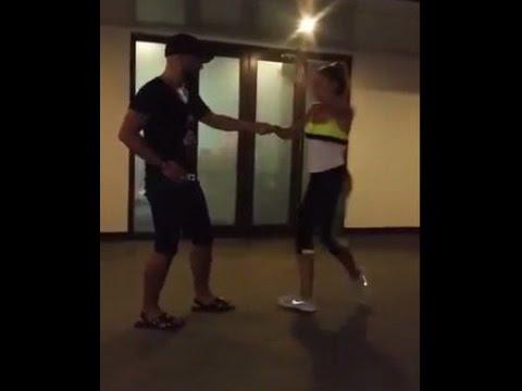 بالفيديو.. دنيا بطمة والدوزي يرقصان بطريقة مثيرة للجدل على إيقاعات السامبا !
