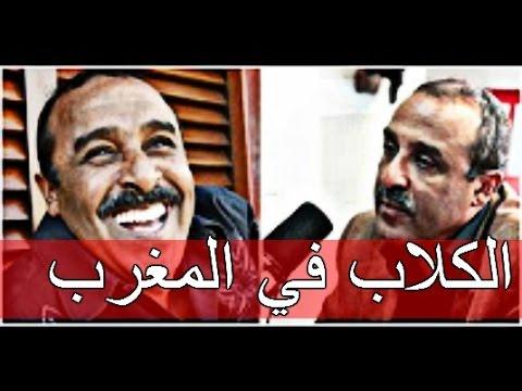 السكيتش الذي بسببه منع 'سعيد الناصري' من الظهور علي القنوات التلفزية المغربية 'الكلاب في المغرب'