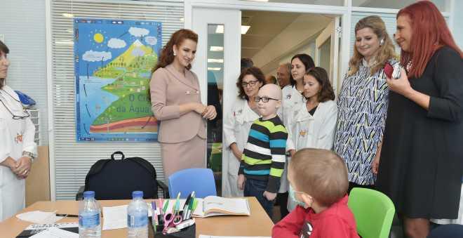 الأميرة للا سلمى تزور المعهد البرتغالي للأنكولوجيا بلشبونة
