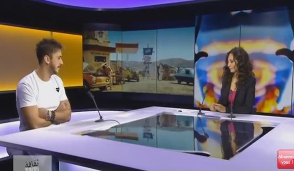 سعد المجرد يقمع صحفية على المباشر حاولت أن تُوقِفَه عن التكلم على الصحراء المغربية