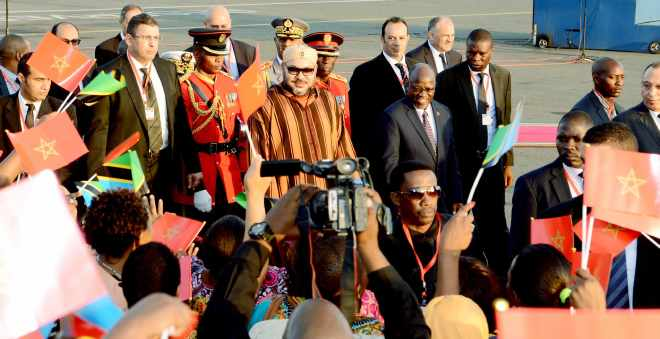 محمد السادس أول ملك مغربي يزور تنزانيا