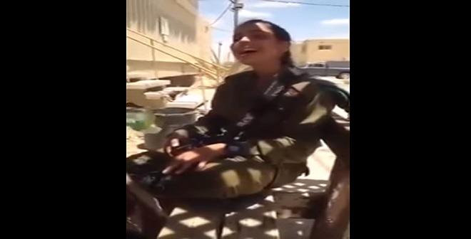 بالفيديو.. مجندة إسرائيلية تغني بالدارجة المغربية