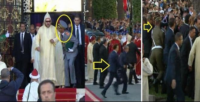 شاهد الطرائف التي وقعت بعد خروج الملك من البرلمان للسلام على المواطنين