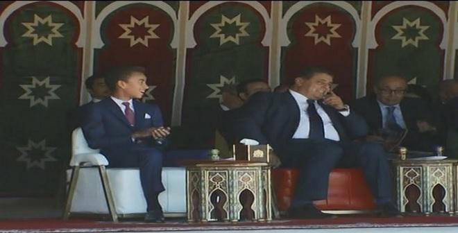 بالفيديو.. ولي العهد الأمير مولاي الحسن يتابع عروض التبوريدة ويتفاعل معها