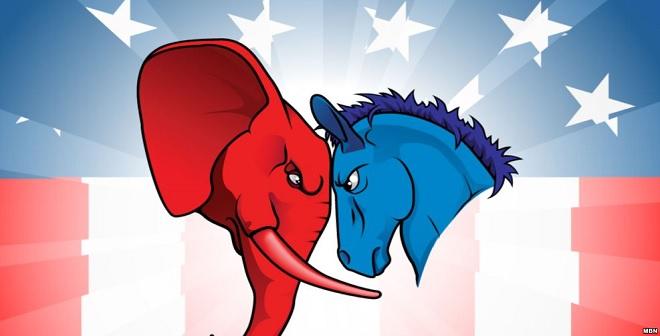 بالفيديو.. تعرف على قصة الحمار الديموقراطي والفيل الجمهوري