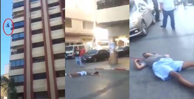 فيديو مروع للحظة انتحار شاب بمدينة مكناس