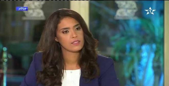 عزيز الرباح يقصف صحفية القناة الأولى على المباشر