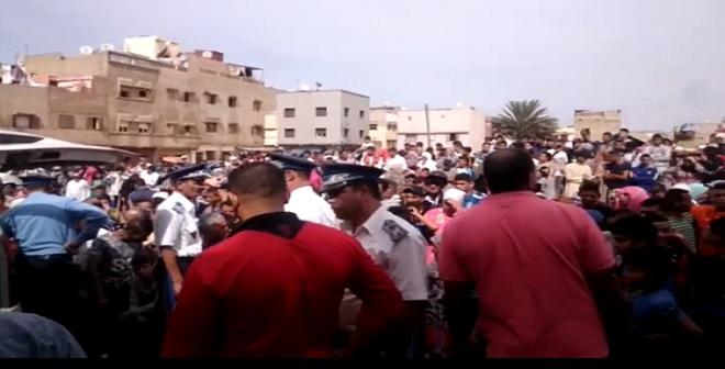 فيديو للجريمة البشعة التي هزت المحمدية