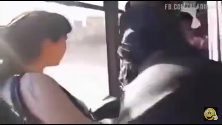 فوضى عارمة داخل احد الحافلات بالمغرب