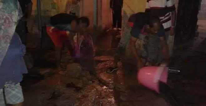 المياه العادمة تجبر سكان ببني ملال على قضاء ليلة عصيبة