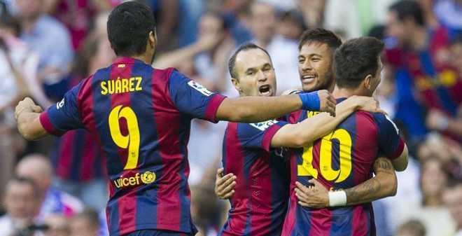برشلونة يكتسح بيلباو ويقترب من الريال