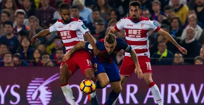 المهدي كارسيلا يتألق أمام برشلونة
