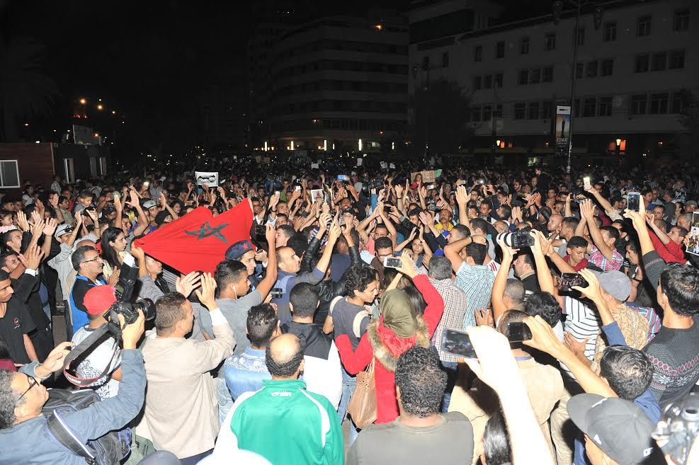 وقفة احتجاجية بالدار البيضاء تضامناً مع الشهيد محسن فكري