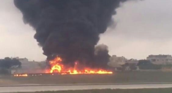 عاجل. 5 قتلى في تحطم طائرة تقل مسؤولين أوربيين