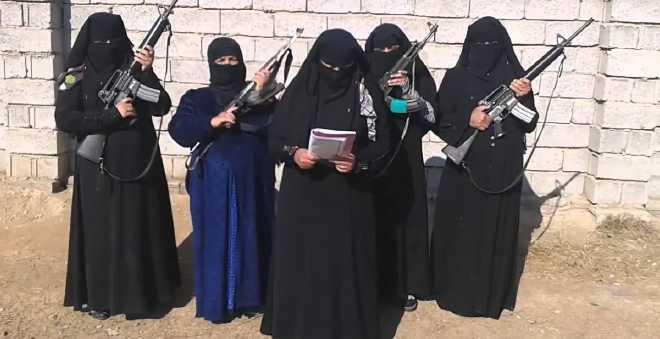 خطير.. فتيات ''داعش'' كن يعتزمن هز المملكة يوم الانتخابات