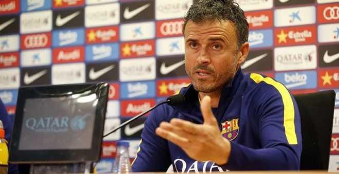 إنريكي : برشلونة لايستحق الخسارة