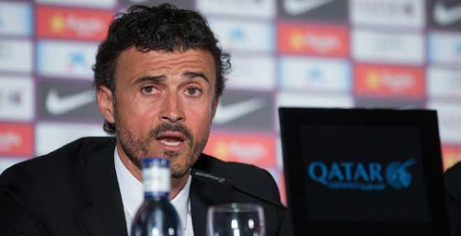 إنريكي يتحدث عن أسباب سقوط برشلونة