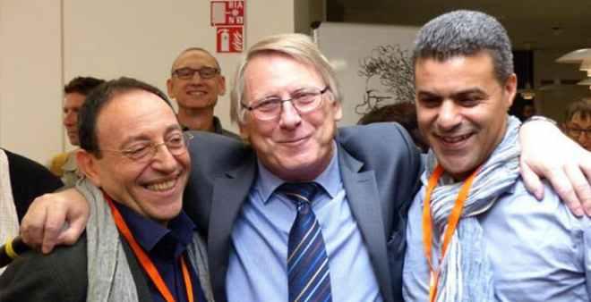 منح الجائزة  الكبرى لحرية التعبير لخالد كدار ورسام إسرائيلي
